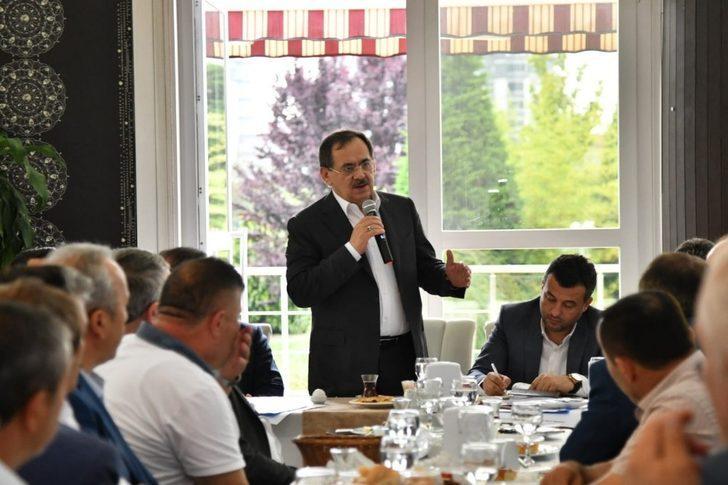 """Başkan Demir: """"Yatay kalkınma ile Türkiye'ye örnek olacağız"""""""