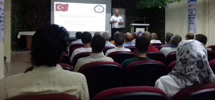 Bingöl'de 'Uyuşturucuyla Mücadele' semineri