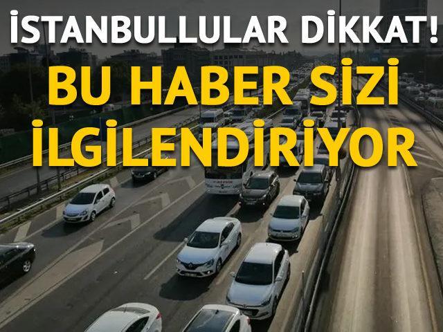 Trafik çilesi İstanbulluya pahalıya mal oluyor...