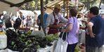 Kadifekale'de üretici pazarı açıldı