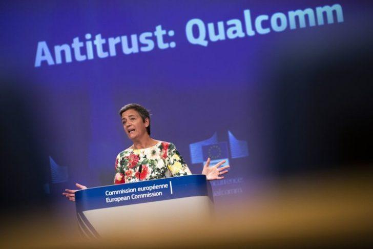Avrupa Komisyonu Qualcomm'u 270 milyon dolar ceza ödemeye mahkum etti