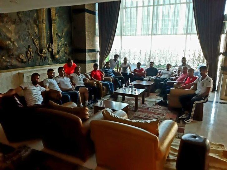 Yeni Malatyaspor altyapısından Yeşilyurt Belediyespor kampına ziyaret