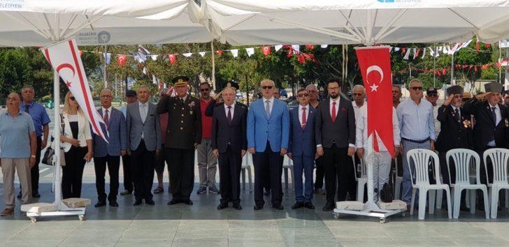 Antalya'da, KKTC'nin Barış ve Özgürlük Bayramı kutlandı