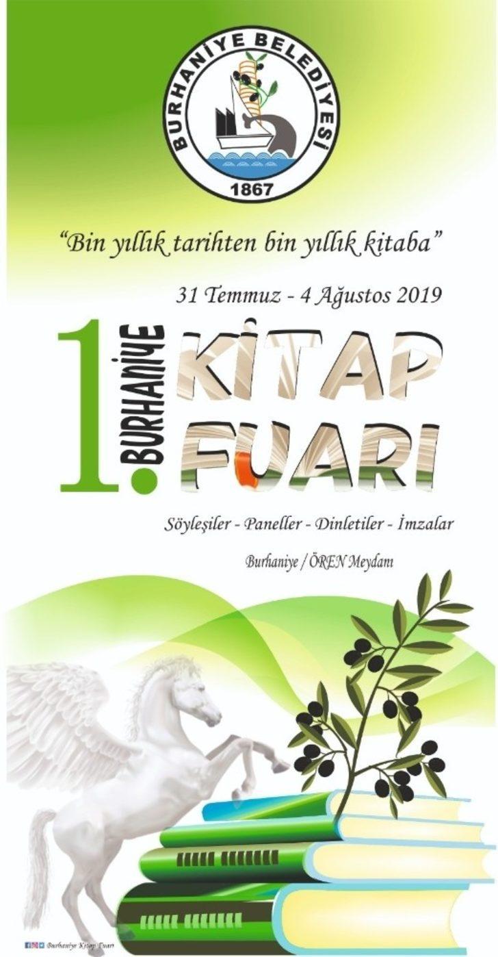Burhaniye'de kitap fuarı açılıyor