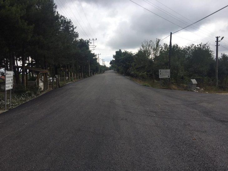 Karasu'da iki mahalle yenilendi