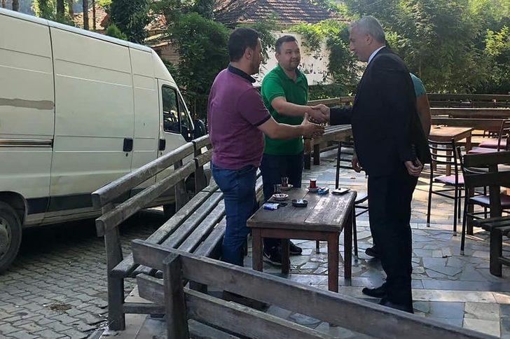 Başkan Babaoğlu, Düzce'de afetzedeleri ziyaret etti.