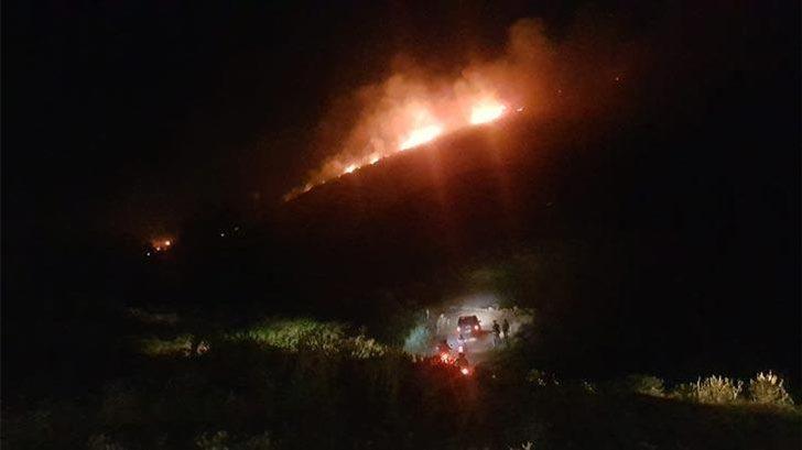 Aydın'da korkutan yangın! Ekipler zamana karşı yarıştı!