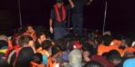 Bir botta 45 kişi! Devriye sırasında fark edildi!