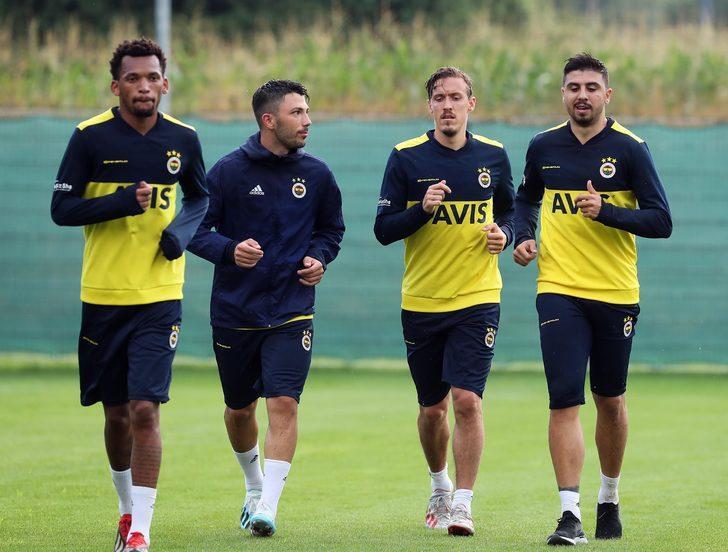 Fenerbahçe, Avusturya'da ilk antrenmanını yaptı