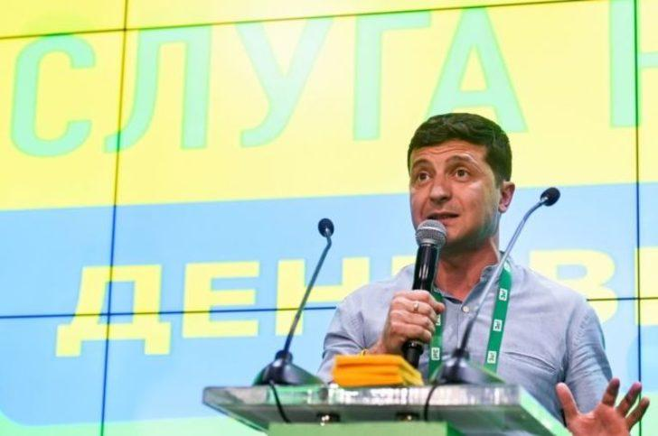 Ukrayna'da erken seçim: Komedyen ve rock yıldızı koalisyon kurabilir