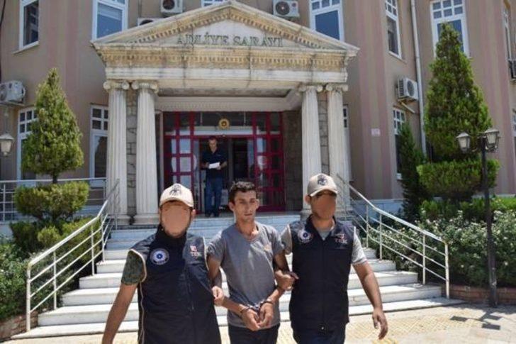 Terör örgütü propagandası yapan şahıs yakalanarak gözaltına alındı