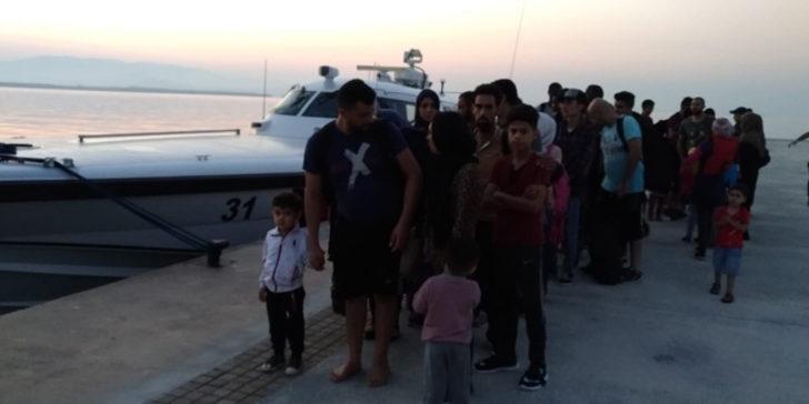 Didim'de 53 Afgan göçmen yakalandı
