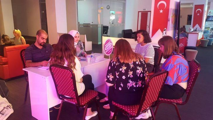 Bartın Üniversitesi, Karadeniz Ereğli'de yoğun ilgi gördü