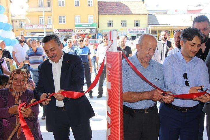 Seydişehir'de eski garaj yeni cazibe merkezi haline dönüşüyor