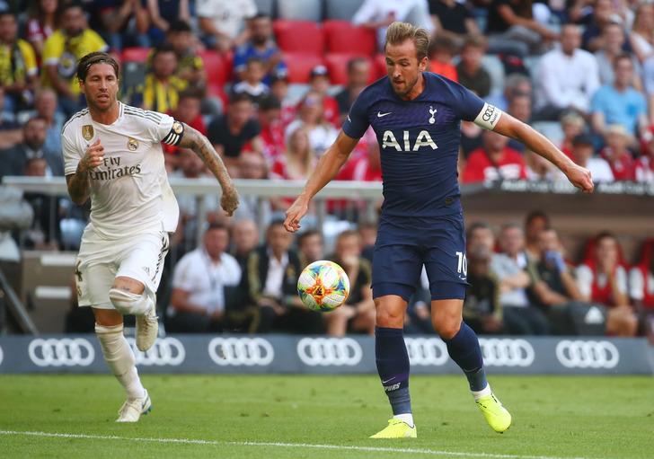 Real Madrid 0 - 1 Tottenham