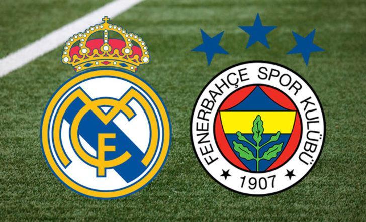 Real Madrid Fenerbahçe maçı canlı izle  (D-Smart, Alternatif Kanallar)
