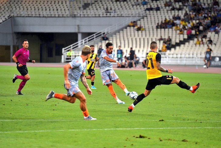 AEK 0 - 0 Medipol Başakşehir (Hazırlık maçı)