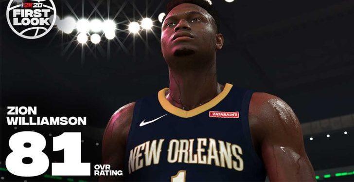 NBA 2K, Zion Williamson ile partnerlik anlaşması imzaladı