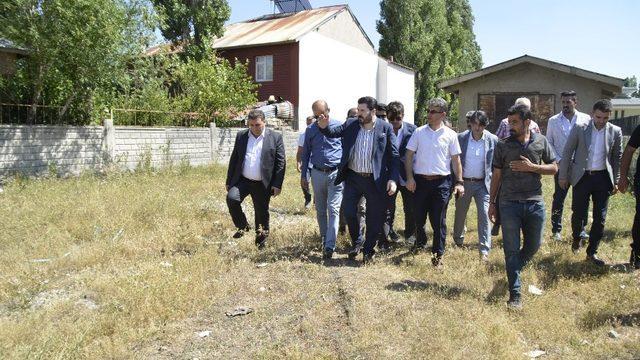 Kardeş Erzurum Büyükşehir Belediyesi heyeti, Bahçelievler Mahallesi'nde incelemelerde bulundu ile ilgili görsel sonucu