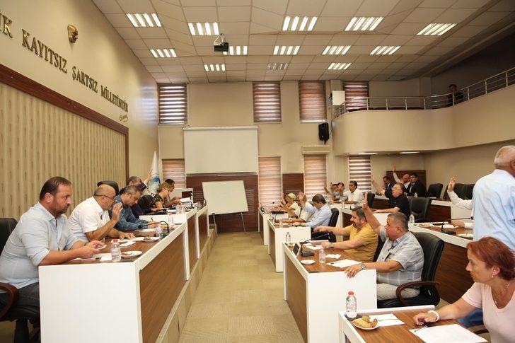 Bartın Belediye Meclisinde 18 madde görüşüldü