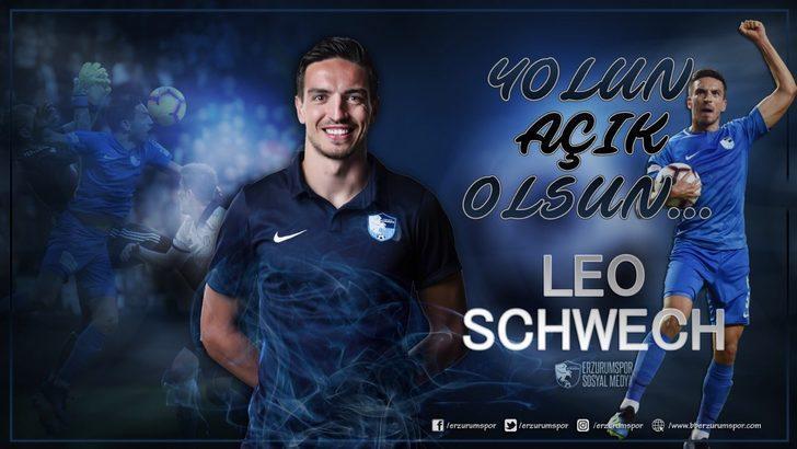 BB Erzurumspor Leo Schwechlen'e veda etti