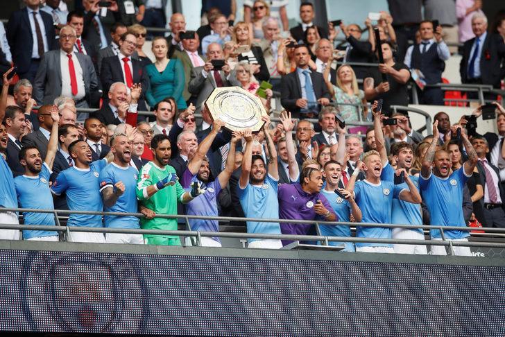 Manchester City Community Shield'in sahibi oldu