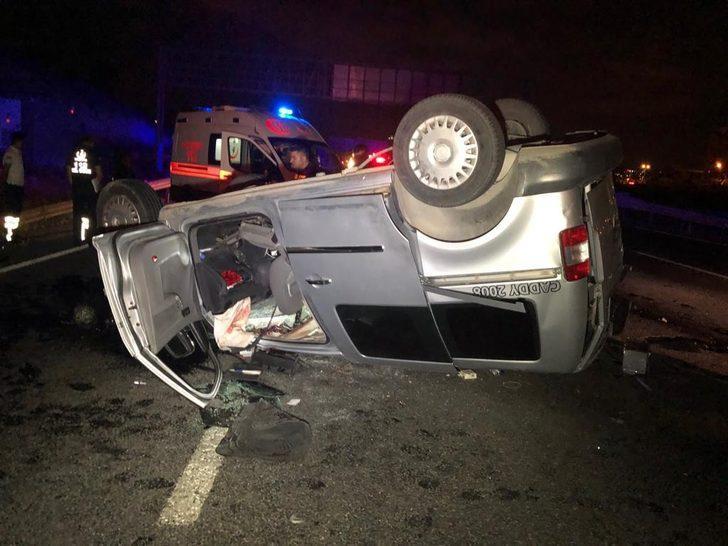 Başkent'te korkunç kaza! Hız kadranı 120'de takılı kaldı!