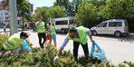 Bolu Belediyesi'nin temizlik kampanyasına ilk destek gazetecilerden