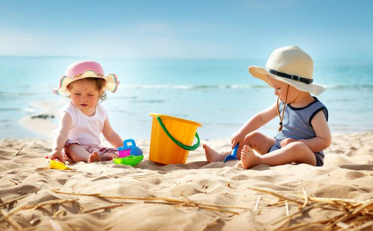 Bebekli aileler tatilden korkmamalı