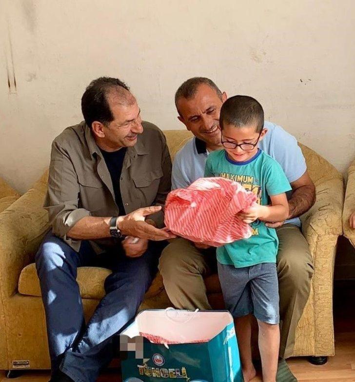 Tunceli'de bin çocuğa bayram hediyesi