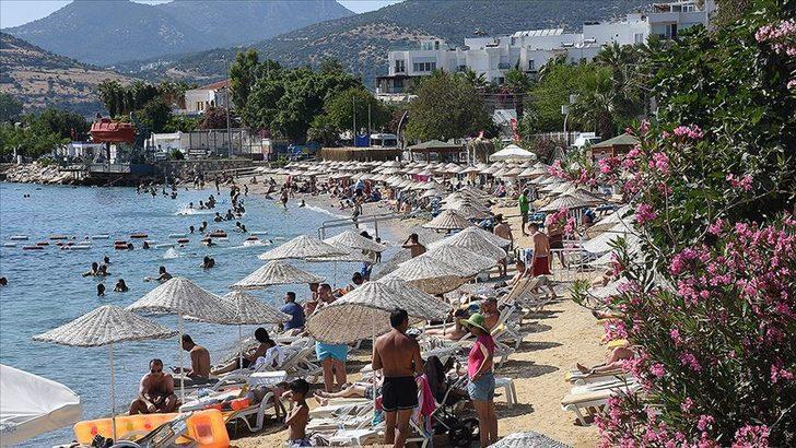 Haziranda turistik tesislerin doluluk oranı yüzde 65 oldu