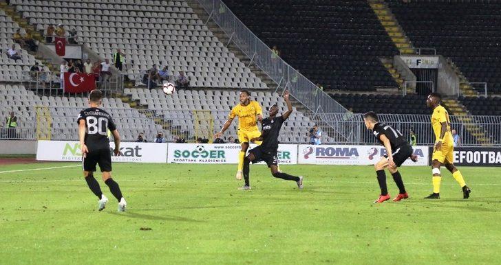 Yeni Malatyaspor turu zora soktu