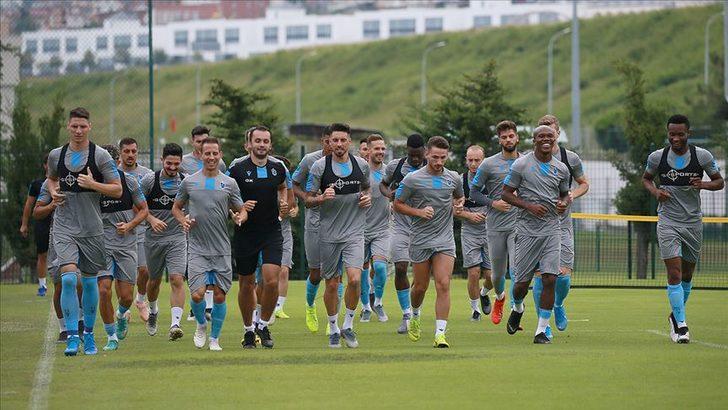 Trabzonspor'da Sparta Prag mesaisi sürüyor