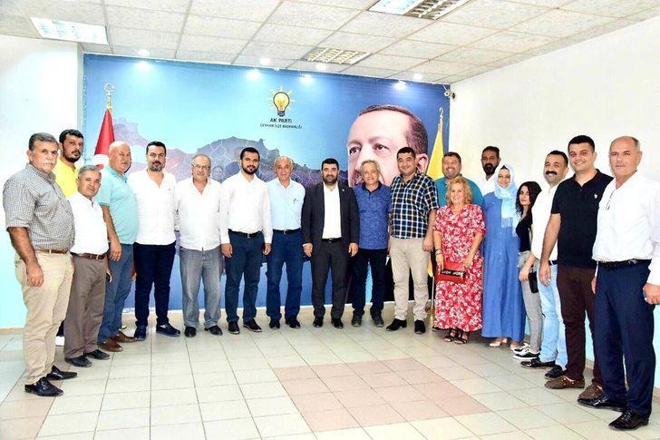 Başkan Bünül'ün örnek davranışına karşılık İYİ Parti ve CHP'den iadeyi ziyaret
