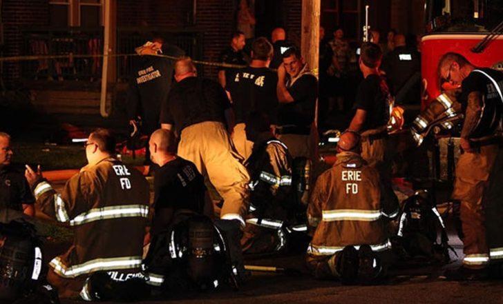 ABD'de dehşete düşüren olay! 5 çocuk yanarak can verdi!