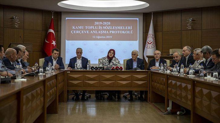 Son dakika: Hükümet ile Türk-İş anlaştı