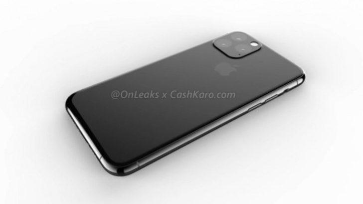 Apple iPhone 11 Pro için düğmeye bastı