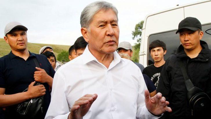 Eski Kırgızistan Cumhurbaşkanına Darbe Girişimi Suçlaması