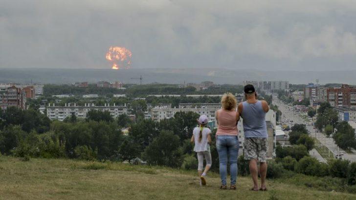 Rus Askeri Tesisindeki Patlamanın Ardından