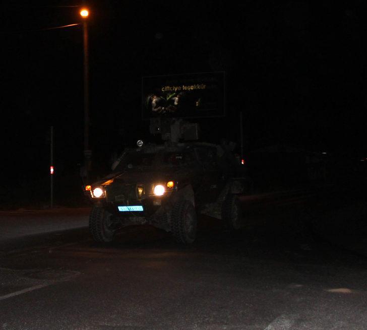 Şanlıurfa'da sınırın sıfır noktasına askeri sevkiyat!