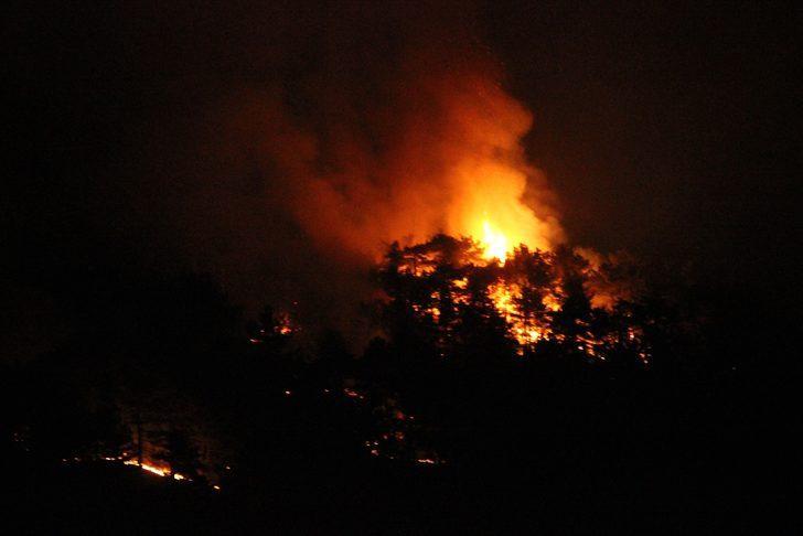 Eskişehir'de yangın! Ekipler müdahale ediyor