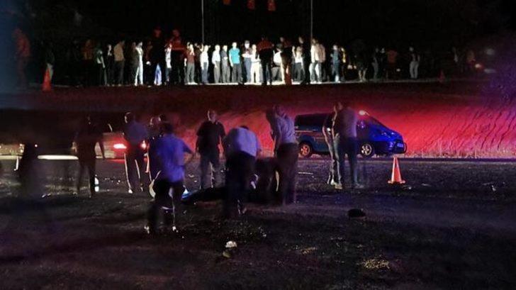 Kütahya'da otomobil yayalara çarptı! Ölü ve yaralılar