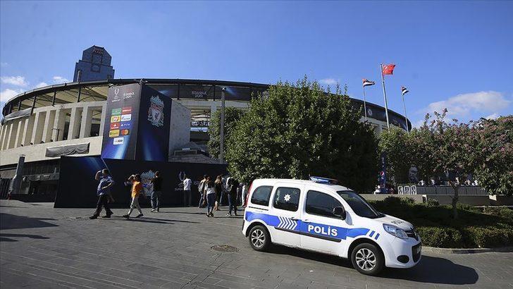 UEFA Süper Kupa finali için 15 bin polis görevlendirildi