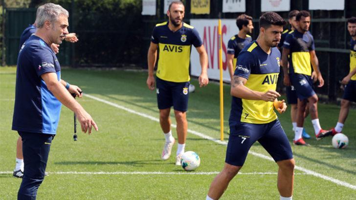 Fenerbahçe'de hazırlıklar tam gaz