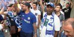 Chelsea taraftarı Beşiktaş'ta eğlendi