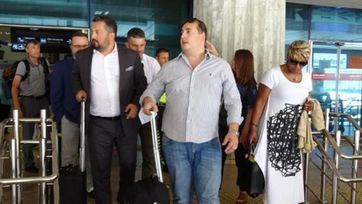 Sturridge'in ailesi Trabzon'a geldi