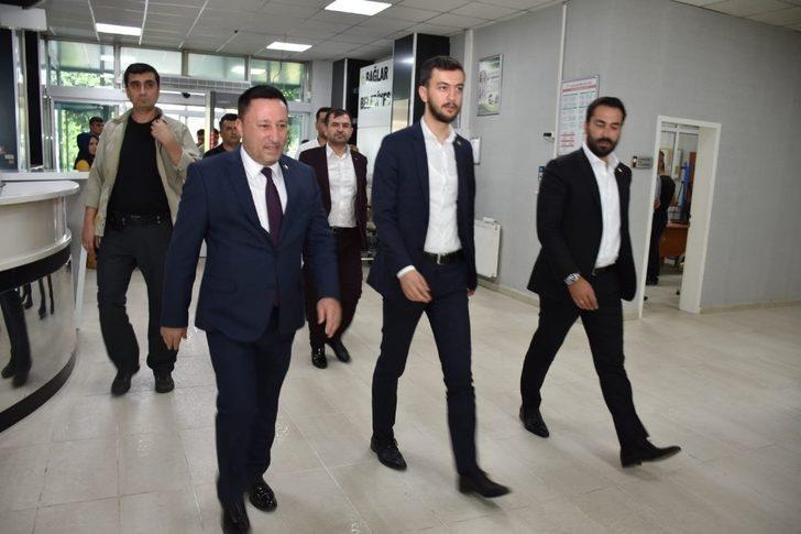 AK Parti'li vekillerden Başkan Beyoğlu'na ziyaret