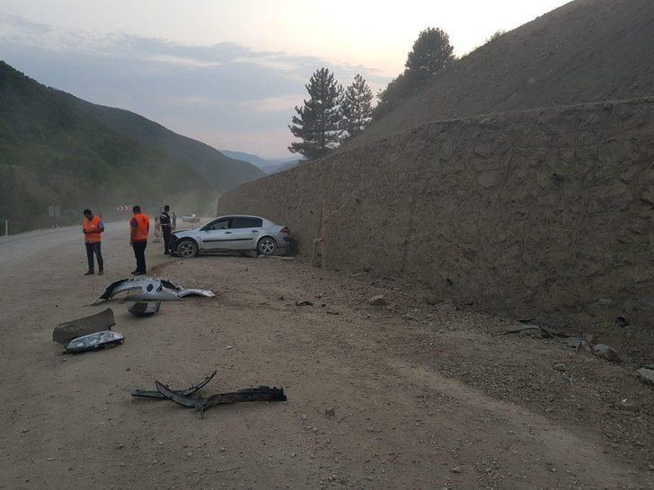 Boyabat'ta trafik kazası: 3 yaralı