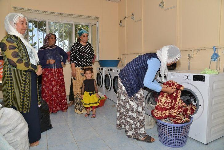 Çamaşır evlerinden üç ayda bin aile faydalandı