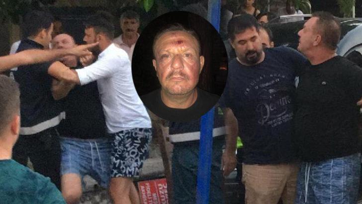 Denizlispor Başkanı Ali Çetin tekme tokat kavga etti